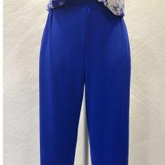 Pantalon Con Gomas Olga Santoni