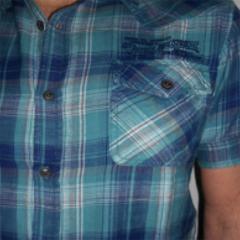 Camisa Manga Corta Petrol C-SIS418