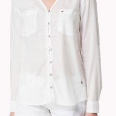 Camisa Manga Larga Tommy M-1657653463-100-BLANCO-L