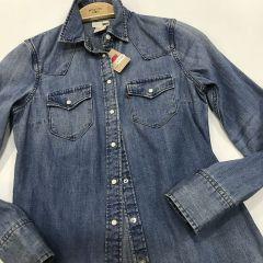 Camisa Manga Larga Levis M-50833-0026-AZUL-XS