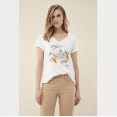 Camiseta Manga Corta Salsa