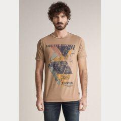 Camiseta Manga Corta Salsa C-124924