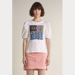 Camiseta Manga Corta Salsa M-125035-0001