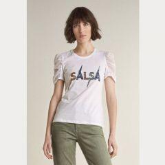 Camiseta Manga Corta Salsa M-125036-0001