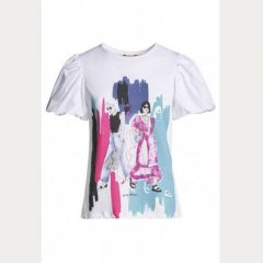 Camiseta Manga Corta Salsa M-125044-0001