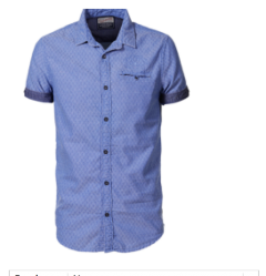 Camisa Manga Corta Petrol C-SIS406