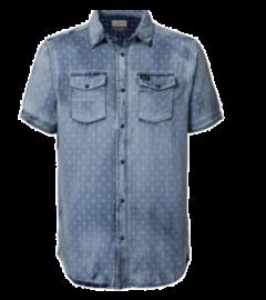 Camisa Manga Corta Petrol C-SIS468