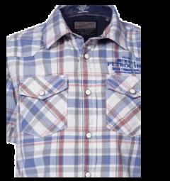 Camisa Manga Corta Petrol C-SIS426