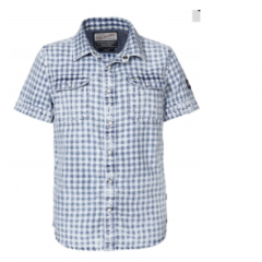 Camisa Manga Corta Petrol C-SIS444-5049-AZUL-XL