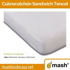 Protector Colchón Microfibra Rizo Impermeable