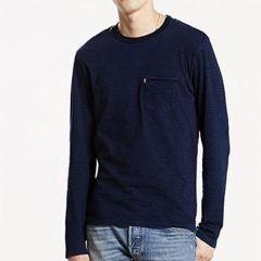 Camiseta Manga Larga Levis C-36045-0000-AZUL-XL