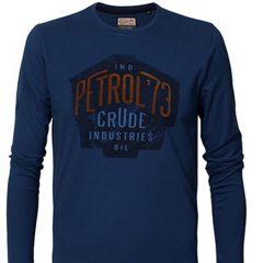 Camiseta Manga Larga Petrol C-TLR628-AZUL-L