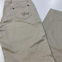 Pantalón Bolso Vaquero Loneta  Divas Cintura Alta M-359-600-1-CRUDO-46