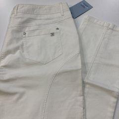 Pantalón Bolso Vaquero Loneta  Etiem Cintura Media M-6358-2649-01-BLANCO-46
