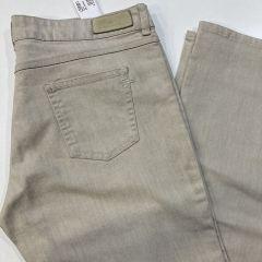 Pantalón Bolso Vaquero  Lacoste Cintura Media M-L5M0611-PIEDRA-46