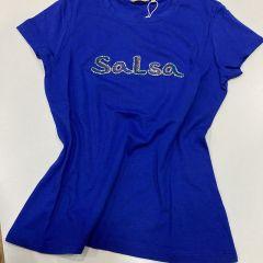 Camiseta Manga Corta Salsa M-124326-8516