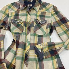 Camisa Manga Larga Tommy M-1657635925-003-VERDE-XL