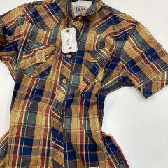 Camisa Manga Corta Petrol C-SIS42-162-CAMEL-XL