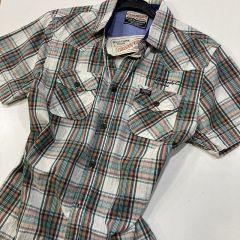Camisa Manga Corta Petrol C-SIS408