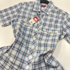 Camisa Manga Corta Levis C-62402-3675-AZUL-M