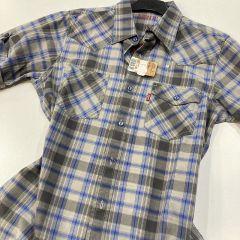 Camisa Manga Corta Levis C-62315-8245-GRIS-M
