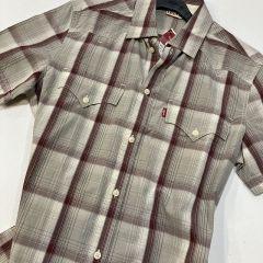 Camisa Manga Corta Levis C-62285-2465-GRANATE-M