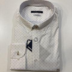 Camisa Manga Larga Carlos Cordoba C-53741-AZUL-4XL