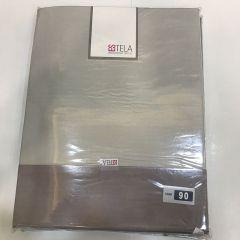 Juego De Sabanas Estela 50% Alg 50% Pol Modelo Aplique 10 cm