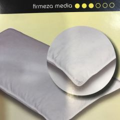 Almohada Mash Modelo Duvet Plumas FIrmeza Media