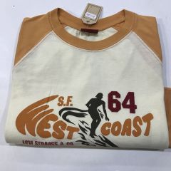 Camiseta Manga Larga Levis C-42954-NARANJA-M