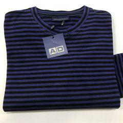 Camiseta Manga Larga Adolfo Dominguez C-17399-AZUL-L
