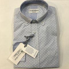 Camisa Manga Larga Carlos Cordoba C-70102-3-AZUL-L