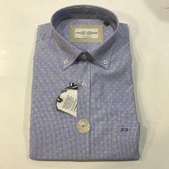 Camisa Manga Larga Carlos Cordoba C-93452-1-AZUL-L