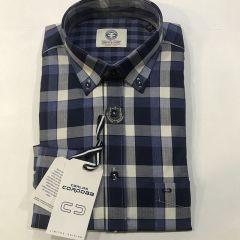 Camisa Manga Larga Carlos Cordoba C-83432-3-AZUL-L