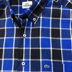Camisa Manga Larga Lacoste C-L4H4779-AZUL-L