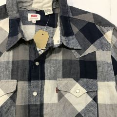 Camisa Manga Larga Levis C-65816-0262-AZUL-XL