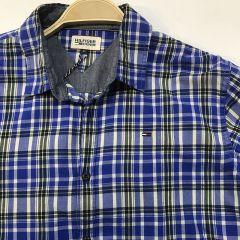 Camisa Manga Larga Tommy C-BAKER-AZUL-XL