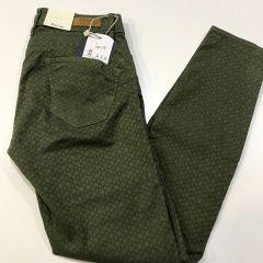 Pantalon Vaquero Salsa Wonder M-119152-5076-VERDE-36