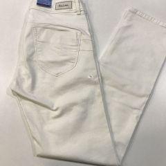 Pantalon Vaquero Salsa Secret M-116649-0001-BLANCO-40