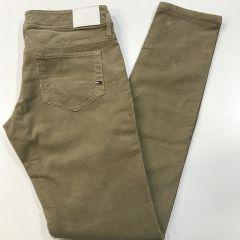 Pantalon Bolso Vaquero Pana Tommy Nevada  Cintura Baja