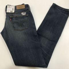 Pantalon Vaquero Levis 571 Cintura Baja Con Rotos