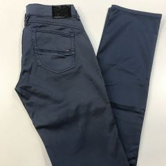 Pantalon Bolso Vaquero Loneta Tommy Victoria  Cintura Baja