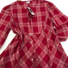 Camisa Manga Larga Levis M-63409-0005-ROJO-S