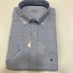 Camisa Manga Corta Pertegaz C-0773798-1- AZUL-XL