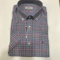 Camisa Manga Corta Pertegaz C-6758774-4-VERDE-L