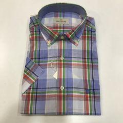 Camisa Manga Corta Pertegaz C-6976788-2-VERDE-M