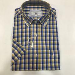 Camisa Manga Corta Pertegaz C-6762788-3-AMARILLO-M
