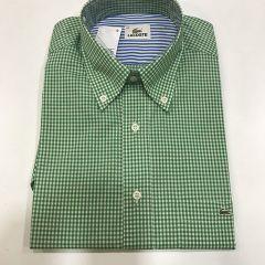 Camisa Manga Corta Lacoste C-L4H4005-PRA-VERDE-M