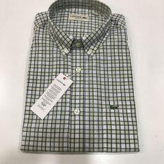 Camisa Manga Corta Lacoste C-CH4599-EZ1-VERDE-M