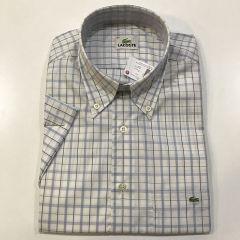 Camisa Manga Corta Lacoste C-L4H3260-3A9-AZUL-M